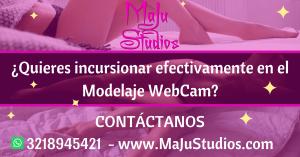 Quieres incursionar efectivamente en el modelaje WebCam MaJu Studios Manizales