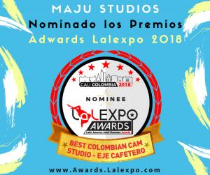 MAJU STUDIOS Nominado los Premios Adwards Lalexpo 2018