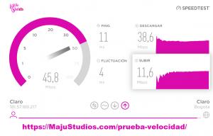 Prueba Velocidad | Speed test