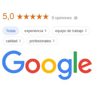 Recomendaciones de MaJu Studios en Google y Google Maps