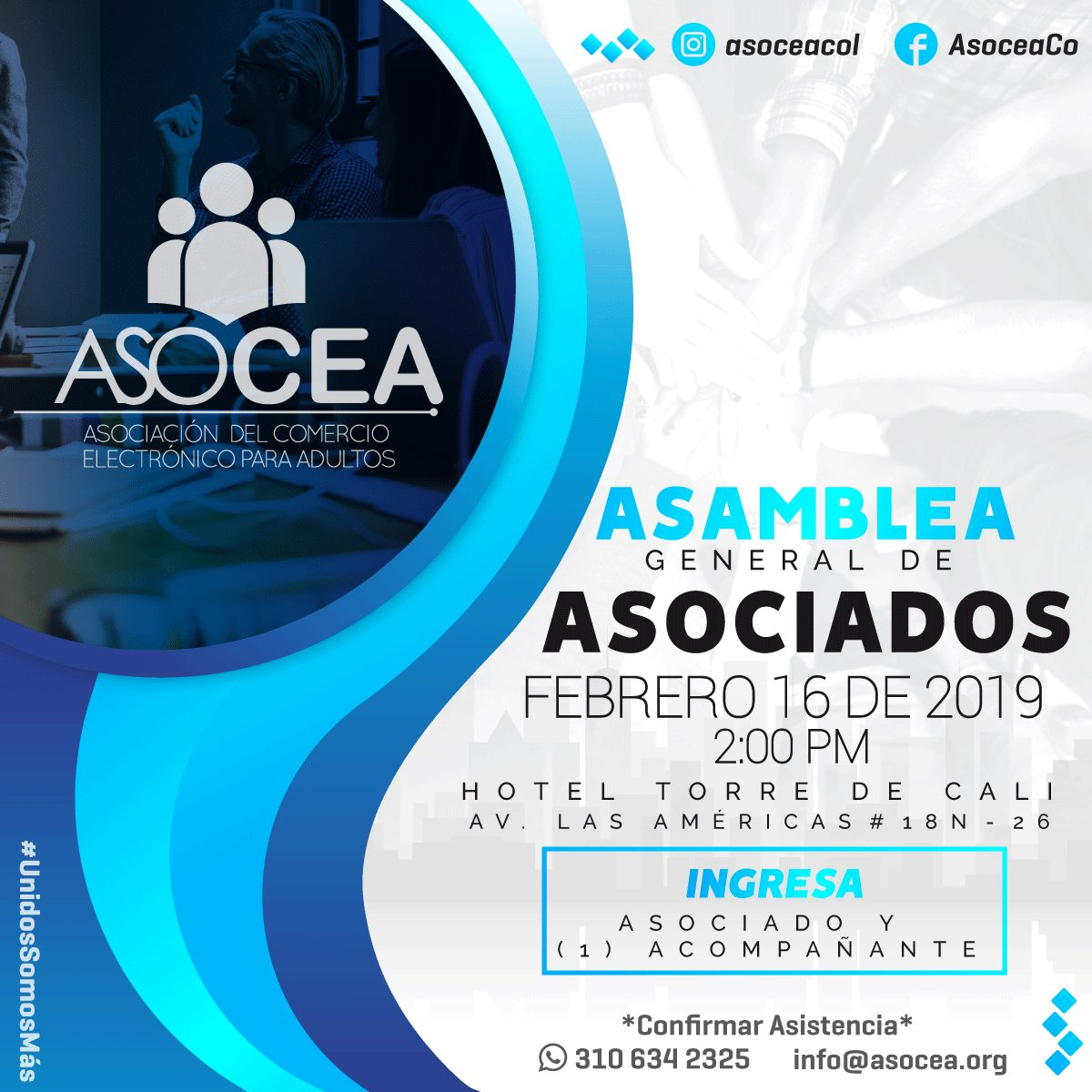 Asamblea general de Asociados ASOCEA MaJu Studios