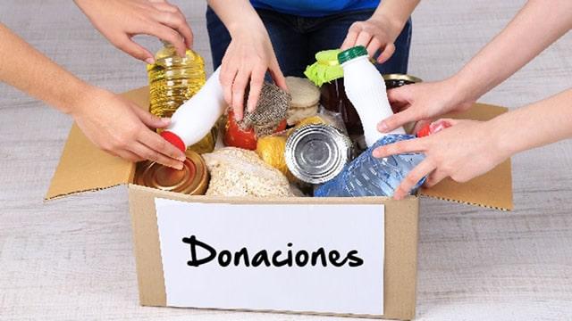 Donacion de Mercados por la crisis de la pandemia COVID 19 Equipo MaJu Studios Manizales
