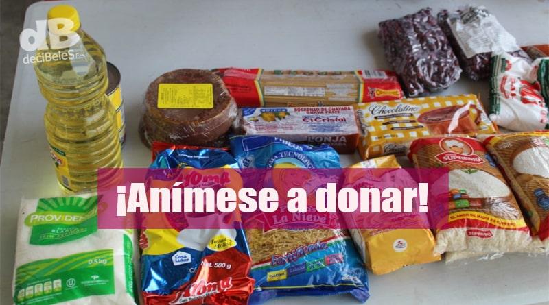 Donación de mercados en Manizales