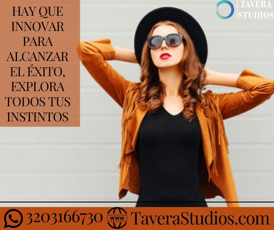 Hay que innovar para alcanzar el éxito en el modelaje webcam Tavera Studios