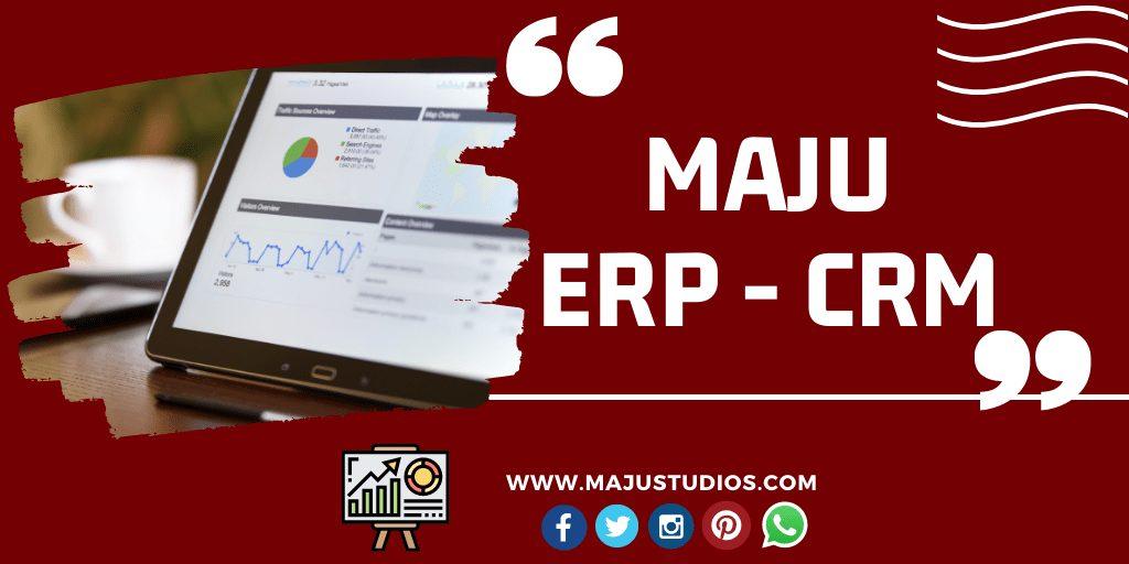 Maju ERP - CRM Administrar estudios webcam