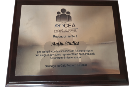 Reconocimiento a MaJu Studios por ASOCEA